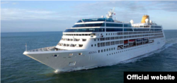 El buque Adonia, de Carnival, podría llevar a Cuba hasta 704 pasajeros cada viaje. Foto: Fathom.org