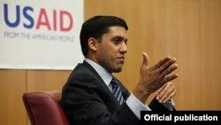 El director de la Agencia de Estados Unidos para el Desarrollo Internacional (USAID), Rajiv Shah.