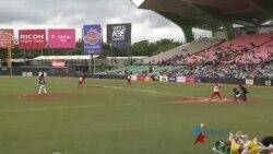 Cuba anota la primera carrera del partido final contra México