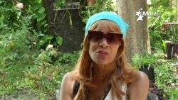 La Dama de Blanco, Xiomara Cruz, que llegó a Miami casi moribunda, hoy está en franca recuperación