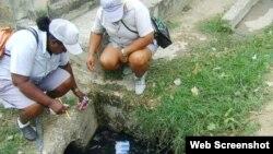 fumigación contra aedes dengue Cuba