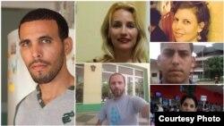 Algunos periodistas independientes víctimas de acciones policiales que limitan su libertad de expresión y movimiento.