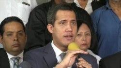 Guaidó llama a protestas pacíficas este sábado