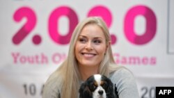 Lindsey Vonn fue nombrada embajadora de ski en los Juegos de Invierno Lausanne 2020.