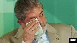 """Uno de los sentenciados en el escándalo """"Mansalao"""" asegura que Luiz Inácio Lula da Silva conocía de los sobornos a diputados."""