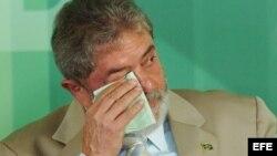 Foto de Archivo. Luiz Inacio Lula Da Silva durante un acto en 2007.