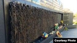 Holodomor en Ucrania, monumento en Washington DC.