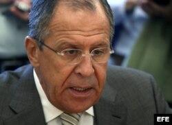 El ministro ruso de Relaciones Exteriores, Serguéi Lavrov.