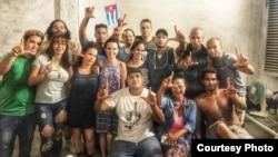 Movimiento San Isidro protestas Tomado de Facebook Anamely Ramos González