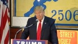"""Trump promete a veteranos de la Brigada 2506: """"Nunca los defraudaré"""""""