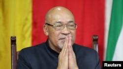 El presidente de Suriname, Desi Bouterse. REUTERS/Ranu Abhelakh