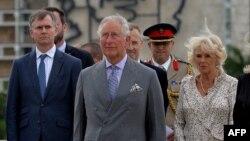 El Príncipe de Gales, Carlos, y la Duquesa de Cornualles, Camilla, en su visita a Cuba.