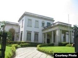 Casa de protocolo # 30 donde se alojaron Hugo Chávez y su familia