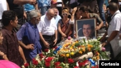 Entierro de Oswaldo Payá