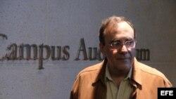 """El escritor cubano exiliado Carlos Alberto Montaner, uno de los ponentes del evento """"Radiografía latinoamericana: la libertad de prensa y la democracia""""."""