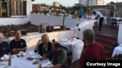 Una paladar en La Habana.