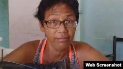 Lucinda González. (Captura de video/ADN Cuba)