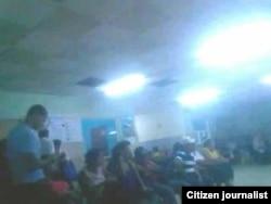 foto/ JC Oliva/ Cuerpo de Guardia Hospital Provincial Manuel Ascunce Domenech