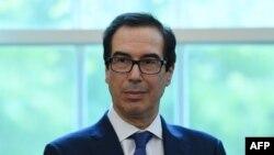 El Secretario del Tesoro de EEUU, Steven Mnuchin. (Olivier DOULIERY / AFP)