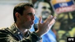 Capriles en campaña electoral