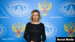 María Zajárova, portavoz del Ministerio de Asuntos Exteriores de Rusia.