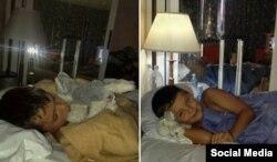 """""""No retiene nada en el estómago"""" El niño canadiense Cole Antinello ha seguido indispuesto después de ser operado en Cuba"""