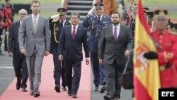 Príncipe de Asturias llega a El Salvador para investidura de Sáncez Cerén