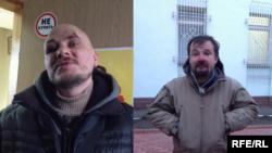 Dimitri Barkar e Ihor Iskhakov.