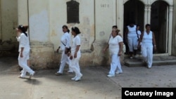 Damas de Blanco en Colón, Matanzas.