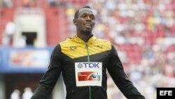 El velocista Usain Bolt, de Jamaica. Foto de archivo