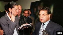 Roberto Robaina, ex primer secretario de la UJC y ex canciller