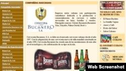 Coralsa produce marcas tan conocidas en el mercado interno --en divisas-- como las cervezas Bucanero.