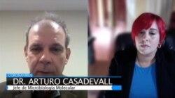 Arturo Casadevall detalla avances en investigación sobre COVID-19