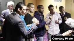 Los boxeadores que pelearán el 4 de enero en Magic City Casino