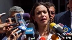 María Corina Machado. Foto de archivo.