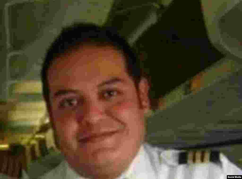 Tripulación del avión accidentado: Miguel Angel Arreola, primer oficial (Aviación en Cuba)