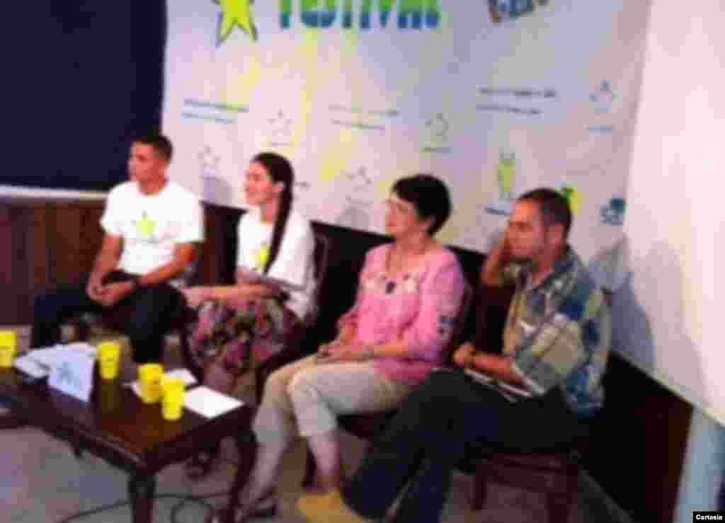#Cuba El panel sobre #Twitter en #FestivalCLIC