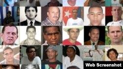 Presos políticos cubanos.