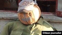 Reporta Cuba. Quema de muñecones de Fin de Año. Foto: Yerdei Verdecia Morejón.