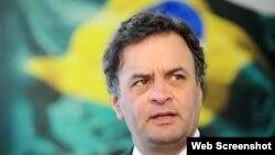 Aecio Neves, canditao presidencial del PSDB