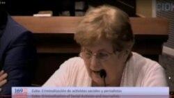 Situación de Cuba expuesta en audiencia de la CIDH