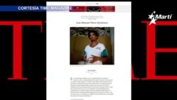"""El activista cubano Otero Alcántara, es destacado como persona influyente por la revista """"Time"""""""