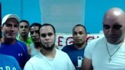 Cubanos en Gran Caimán en huelga de hambre reclaman asilo político