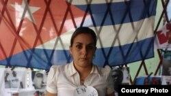 Arianna López Roque, activista de los derechos humanos en Placetas, Villa Clara.