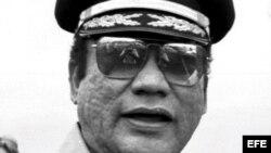 Foto de archivo del exdictador panameño Manuel Antonio Noriega tomada en Ciudad de Panamá en 1985.
