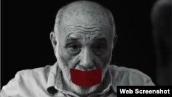 """Rafael Alcides. (Imagen del documental """"Nadie"""", de Miguel Coyula)."""