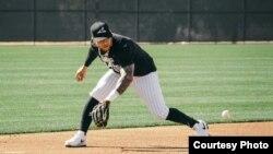 El pelotero cubano Yoan Moncada. (Foto de su página de Facebook)