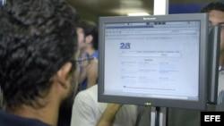 Buscador cubano en la Internet.