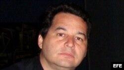 El escritor cubano, Ángel Santiesteban. Foto de archivo