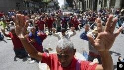 Crisis en Venezuela (Yuri Cortez / AFP).